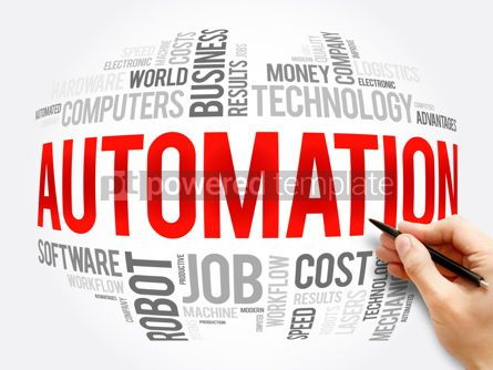 Business: Automation word cloud collage technology concept #16328