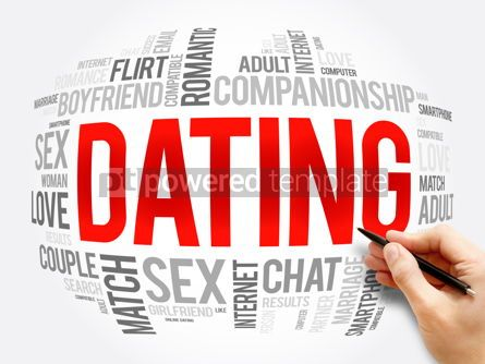 Business: Dating word cloud collage love concept #16329