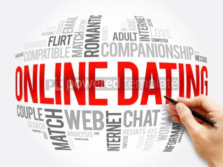 Business: Online Dating word cloud collage #16330