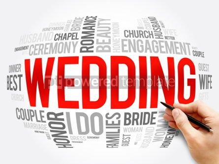 Business: Wedding word cloud collage social concept #16334