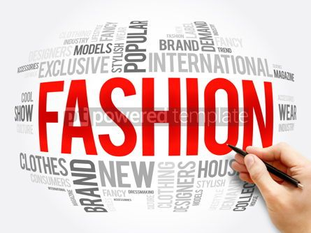 Business: Fashion word cloud collage concept #16335