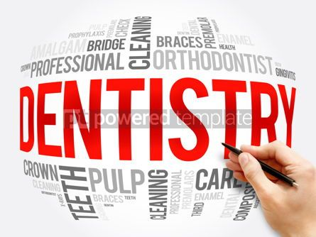Business: Dentistry word cloud collage health concept #16338
