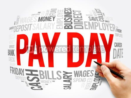 Business: Pay Day word cloud collage business concept #16341