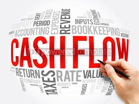 Business: Cash Flow word cloud collage business concept #16351