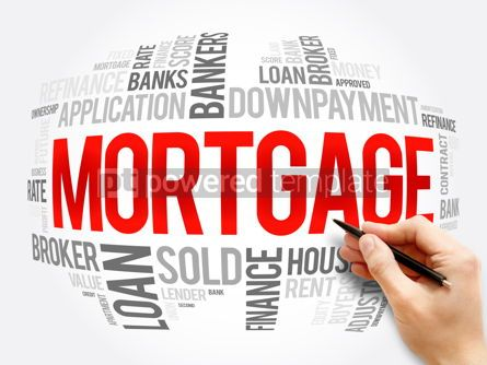 Business: Mortgage word cloud collage business concept #16356