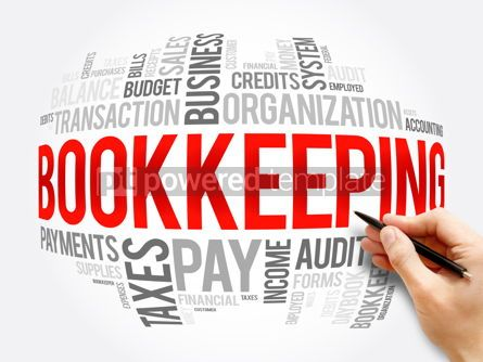 Business: Bookkeeping word cloud collage business concept #16357