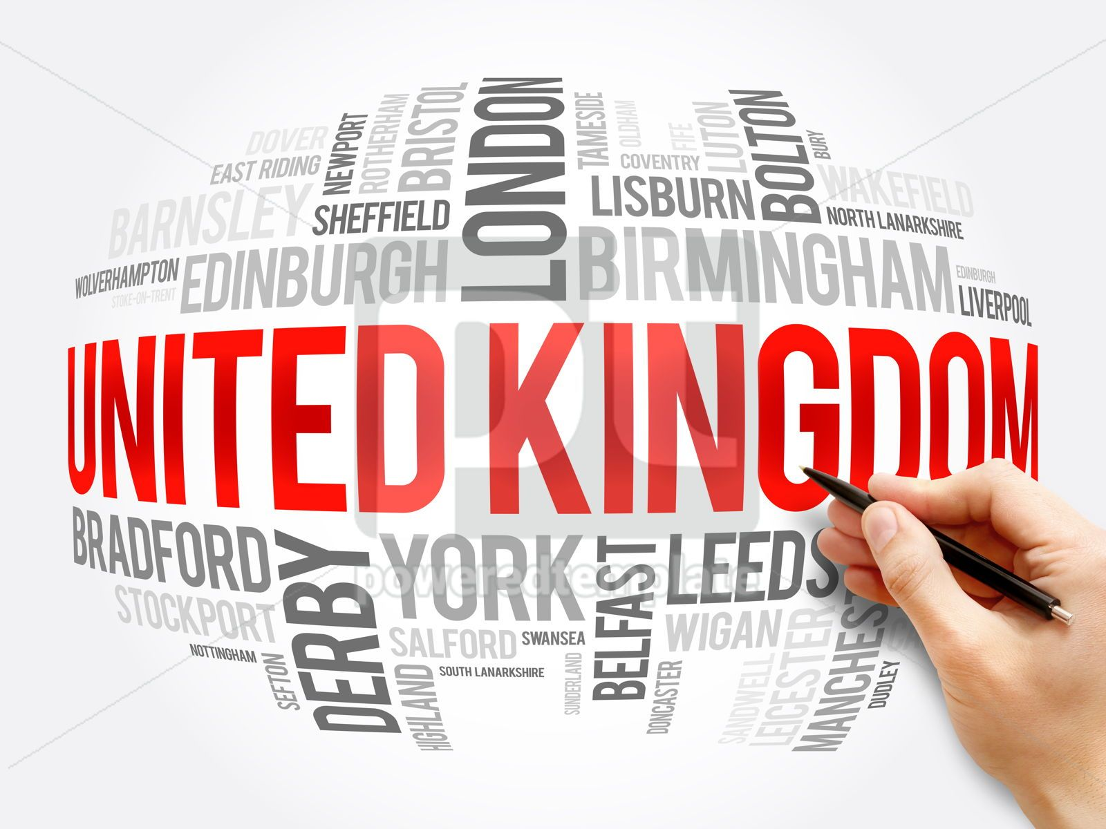 List of cities and towns in the United Kingdom, 16358, Business — PoweredTemplate.com