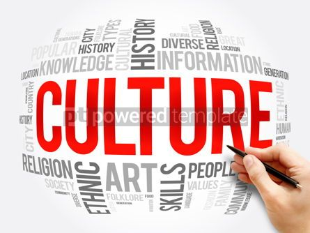 Business: Culture word cloud collage social concept #16368