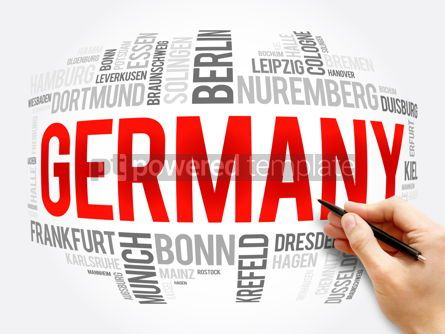 Business: List of cities in Germany word cloud collage #16369