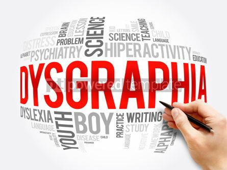 Business: Dysgraphia word cloud collage education concept #16371