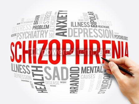 Business: Schizophrenia word cloud collage health concept #16372