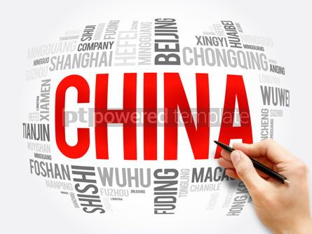 Business: List of cities in China word cloud collage #16375