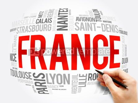 Business: List of cities and towns in France word cloud #16382