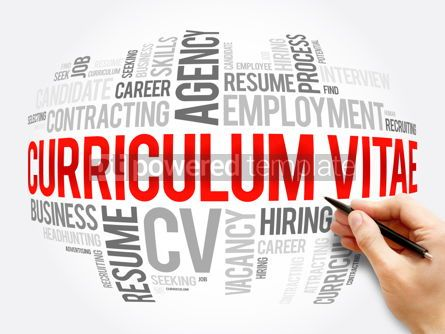 Business: Curriculum vitae CV - word cloud collage #16383