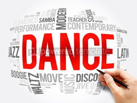 Business: Dance word cloud collage concept background #16385