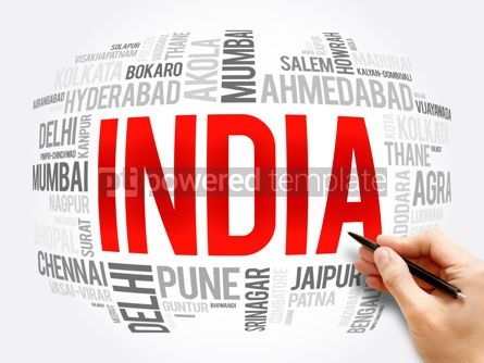 Business: List of cities in India word cloud collage #16387