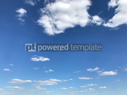 Nature: Beautiful lue sky and clouds #16398