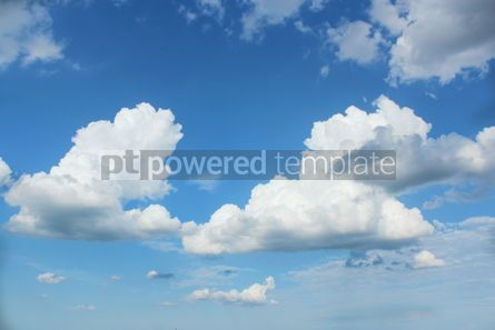 Nature: Beautiful lue sky and white clouds #16400
