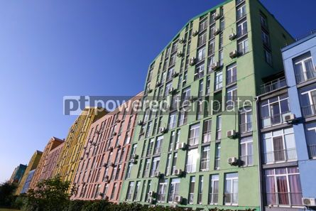 Architecture : Colorful houses of modern housing estate Comfort Town in Kyiv U #16420