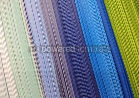 Abstract: Abstract background made of colourful rows of papers #16432