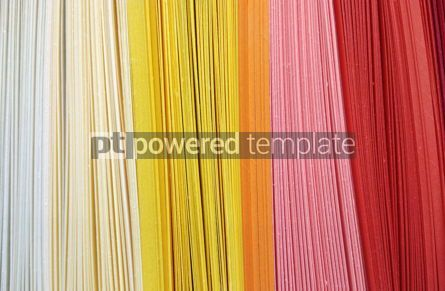 Abstract: Abstract background made of colourful rows of papers #16433