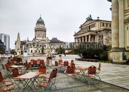 Architecture : Gendarmenmarkt Square in Berlin Germany #16449