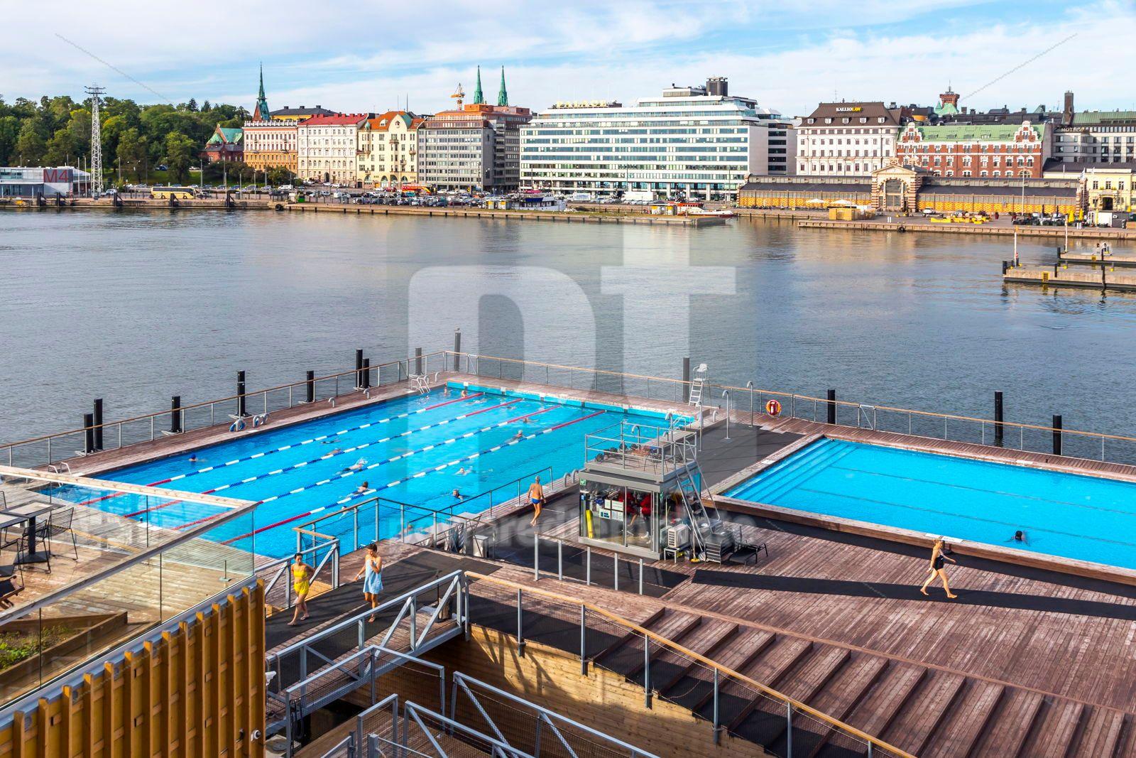 Allas Sea Pool - swimming pools sea spa in Helsinki Finland, 16452, Sports  — PoweredTemplate.com