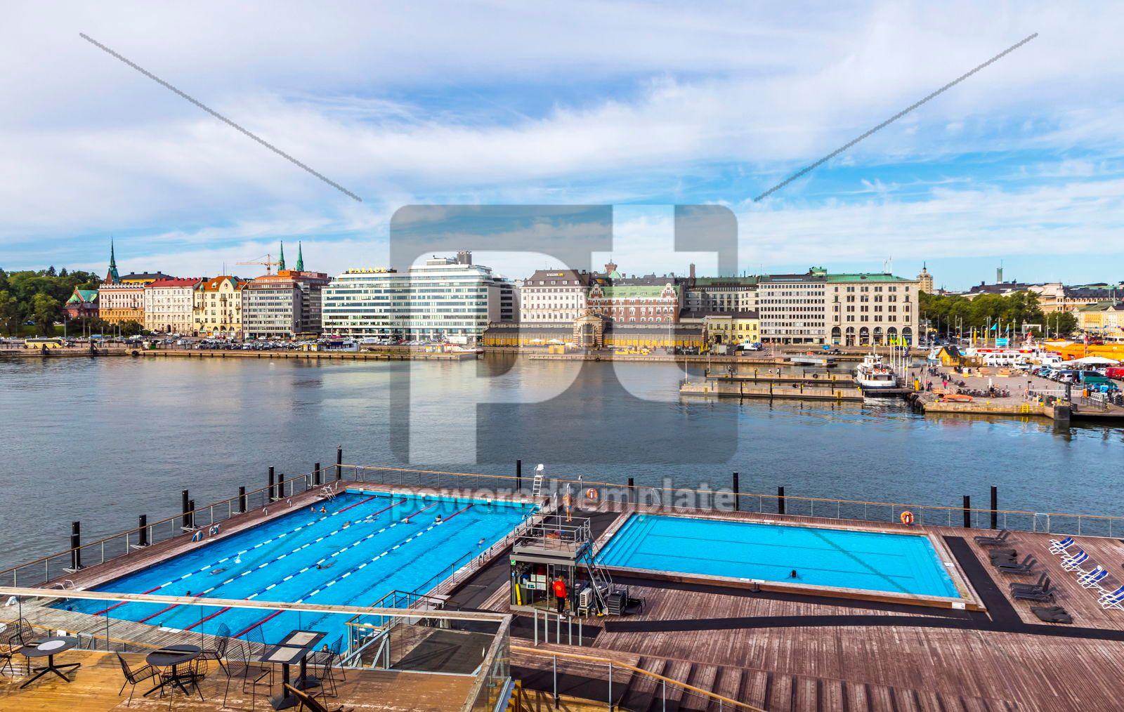 Allas Sea Pool - swimming pools sea spa in Helsinki Finland, 16453, Sports  — PoweredTemplate.com