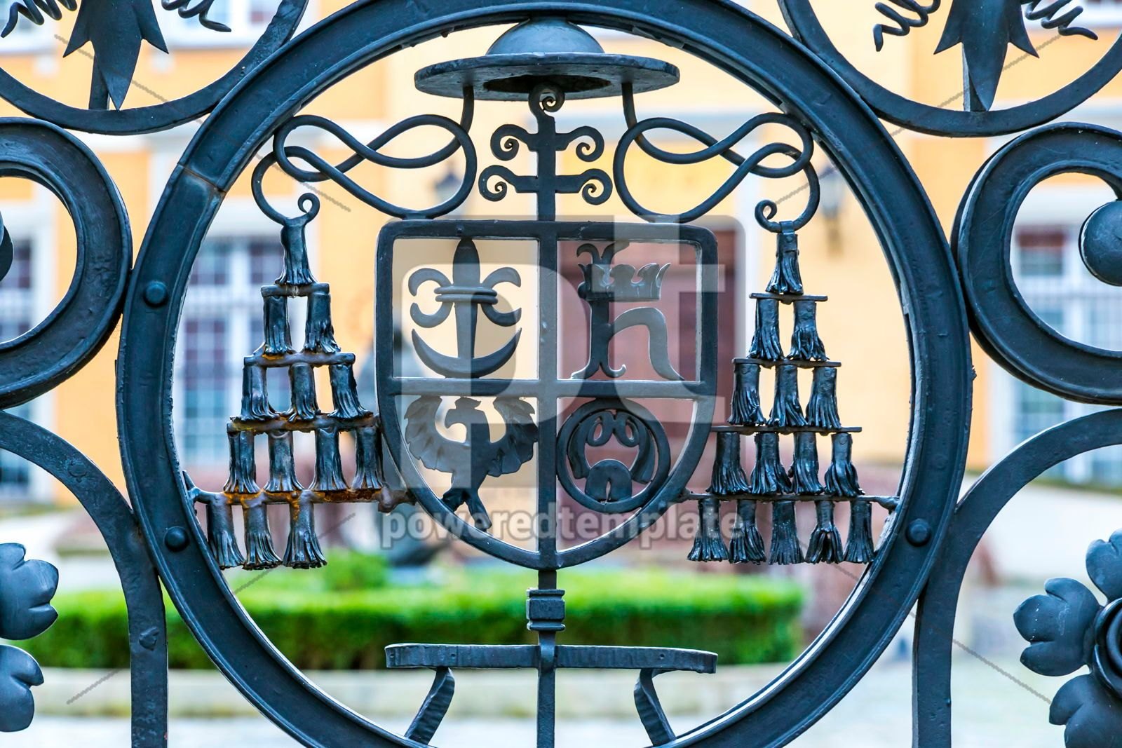 Details of Park of Ossolineum in Wroclaw Poland, 16467, Arts & Entertainment — PoweredTemplate.com