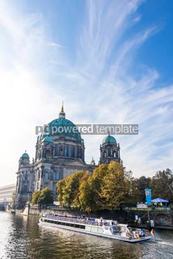 Architecture : Spree river Museum island Berliner Dom Berlin Germany #16474