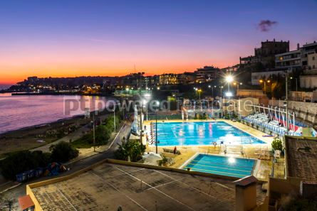 Sports : Municipal swimming pools in Piraeus Athens Greece #16507
