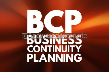 Business: BCP - Business Continuity Planning acronym business concept bac #16520