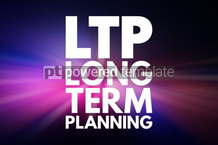 Business: LTP - Long-Term Planning acronym health concept background #16528
