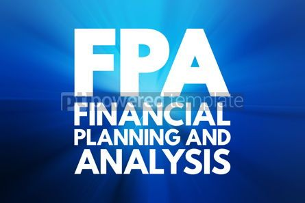 Business: FPA - Financial Planning and Analysis acronym business concept #16538