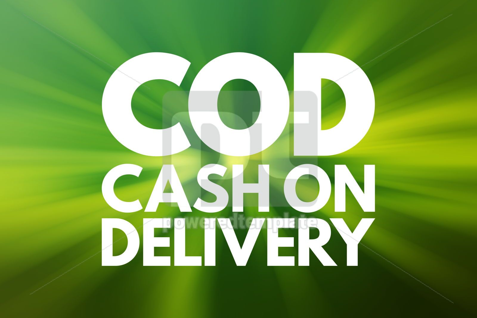 COD - Cash On Delivery acronym business concept background, 16561, Business — PoweredTemplate.com