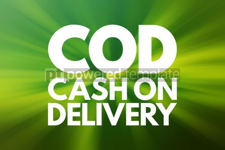 Business: COD - Cash On Delivery acronym business concept background #16561