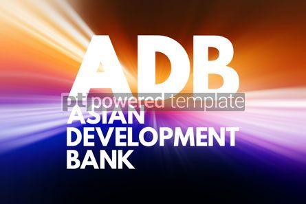 Business: ADB - Asian Development Bank acronym business concept backgroun #16588
