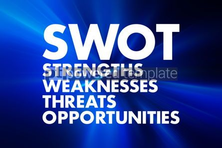 Business: SWOT Analysis business concept strengths weaknesses threats a #16589