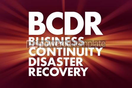 Business: BCDR - Business Continuity Disaster Recovery acronym business c #16599