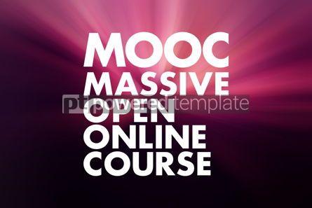 Business: MOOC - Massive Open Online Course acronym business concept back #16620