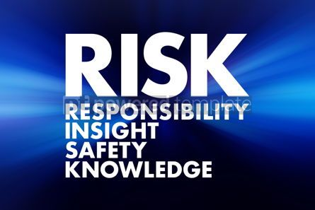 Business: RISK - Responsibility Insight Safety Knowledge acronym business #16622
