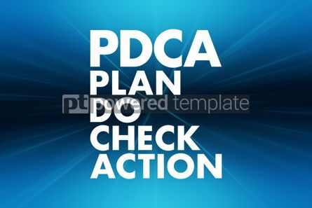 Business: PDCA - Plan Do Check Action acronym business concept background #16633
