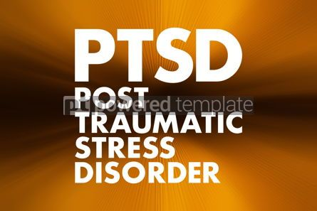 Business: PTSD - Posttraumatic Stress Disorder acronym medical concept ba #16645