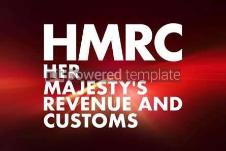 Business: HMRC - Her Majesty's Revenue and Customs acronym business conce #16670