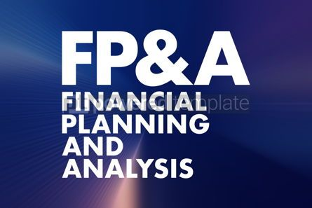 Business: FP A - Financial Planning Analysis acronym business concept b #16672