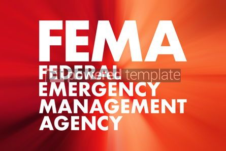 Business: FEMA - Federal Emergency Management Agency acronym concept back #16682