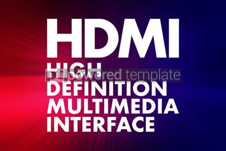 Business: HDMI - High Definition Multimedia Interface acronym technology #16691