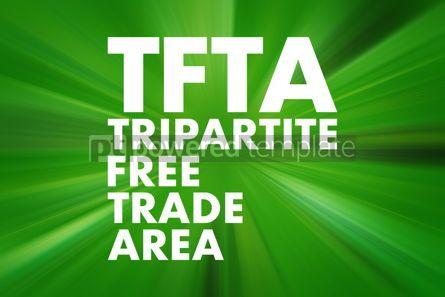 Business: TFTA - Tripartite Free Trade Area acronym business concept back #16693