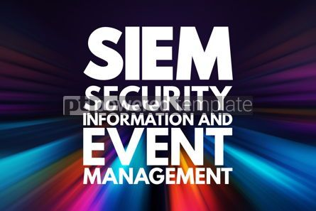 Business: SIEM - Security Information and Event Management acronym busine #16732