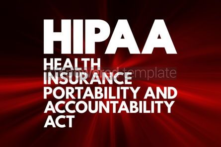 Business: HIPAA - Health Insurance Portability and Accountability Act acro #16740